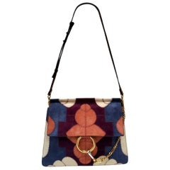 Chloe Faye Multicolor Patchwork Hand Bag
