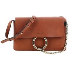 Chloe Faye Shoulder Bag Leather Small