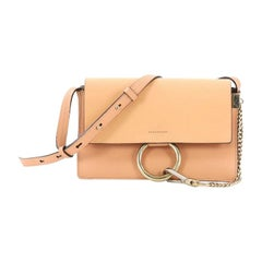 Chloe Faye Shoulder Bag Leather Small