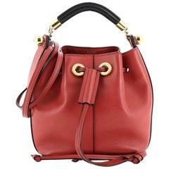 Chloe Gala Bucket Bag Leather Small