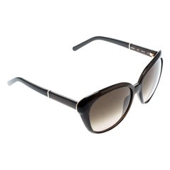 Chloe Greenish Brown/Greenish Brown Gradient CE648S Butterfly Sunglasses