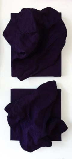 Egyptian Violet Folds - Pair