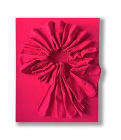 Fluorescent Pink Bengali Folds