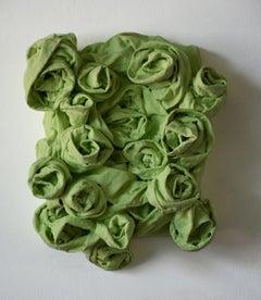 Pastel Green Rosettes