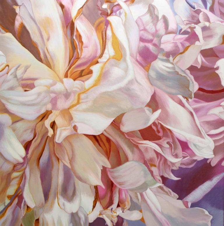 Chloe Hedden Still-Life Painting - Becky's Peony