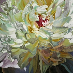 Long Time Sun (floral painting, realist, pastels, flower, oil painting, canvas)