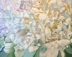 Princess of Cups 2  (floral painting, contemporary realism, flower oil painting)