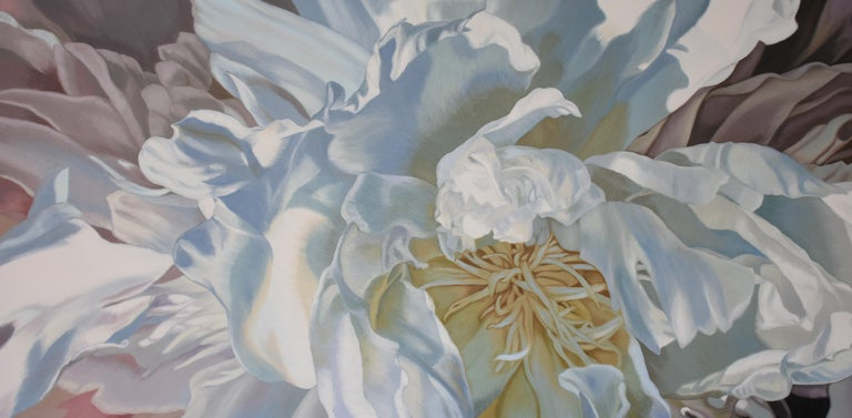 Chloe Hedden Abstract Painting - SALT SPRING PEONY 4