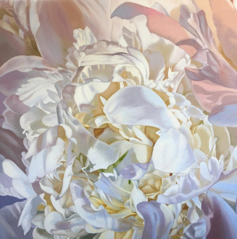 Chloe Hedden Abstract Painting - SARAHS PEONY