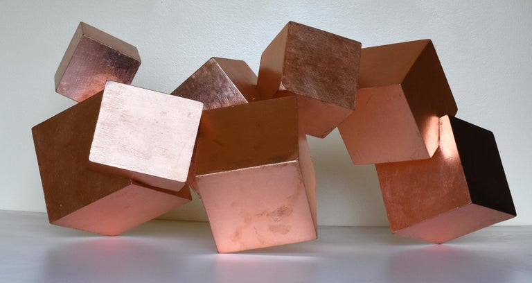COPPER AND MAHOGANY PYRITE - Sculpture by Chloe Hedden