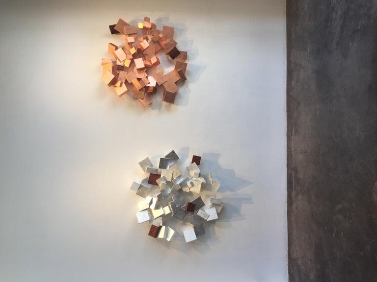 Silver and Bubinga Pyrite For Sale 2