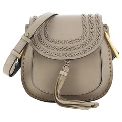 Chloe Hudson Handbag Whipstitch Leather Medium