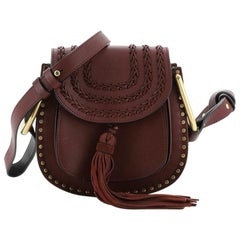 Chloe Hudson Handbag Whipstitch Leather Mini