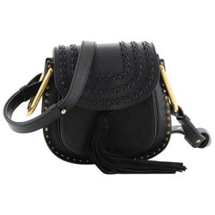 Chloe Hudson Handbag Whipstitch Leather Mini