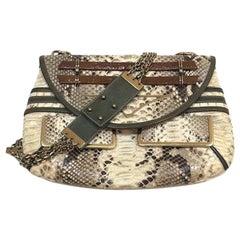 Chloe Irina Crossbody Beige Python Bag