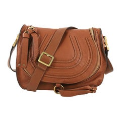 Chloe Marcie Crossbody Bag Leather Medium