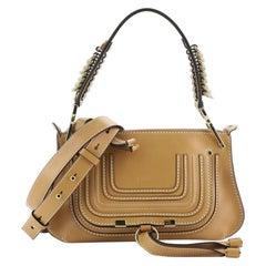 Chloe Marcie Saddle Shoulder Bag Leather Small