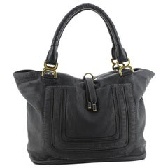 Chloe Marcie Tote Leather Large