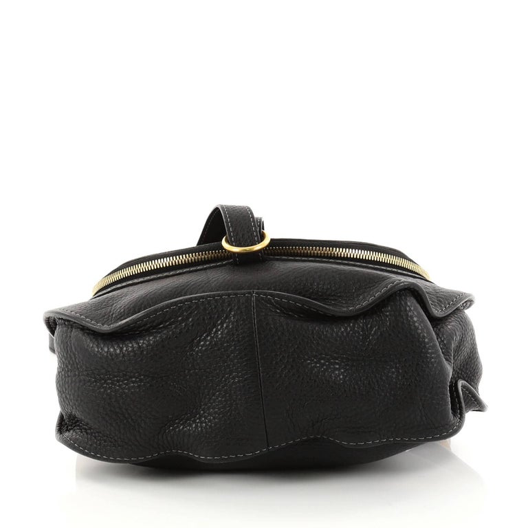 Women s or Men s Chloe Marcie Zip Crossbody Bag Leather Medium For Sale