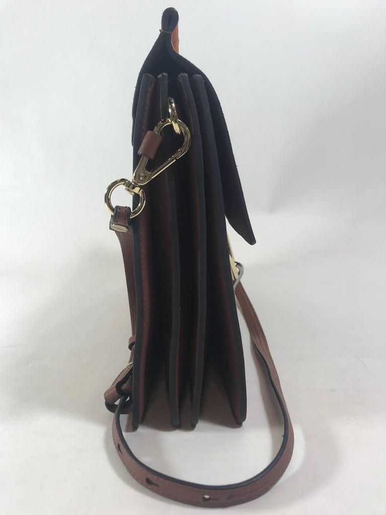 Brown Chloe Medium Faye Bag For Sale