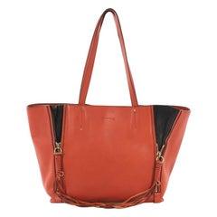 Chloe Milo Shopping Tote Leather Medium