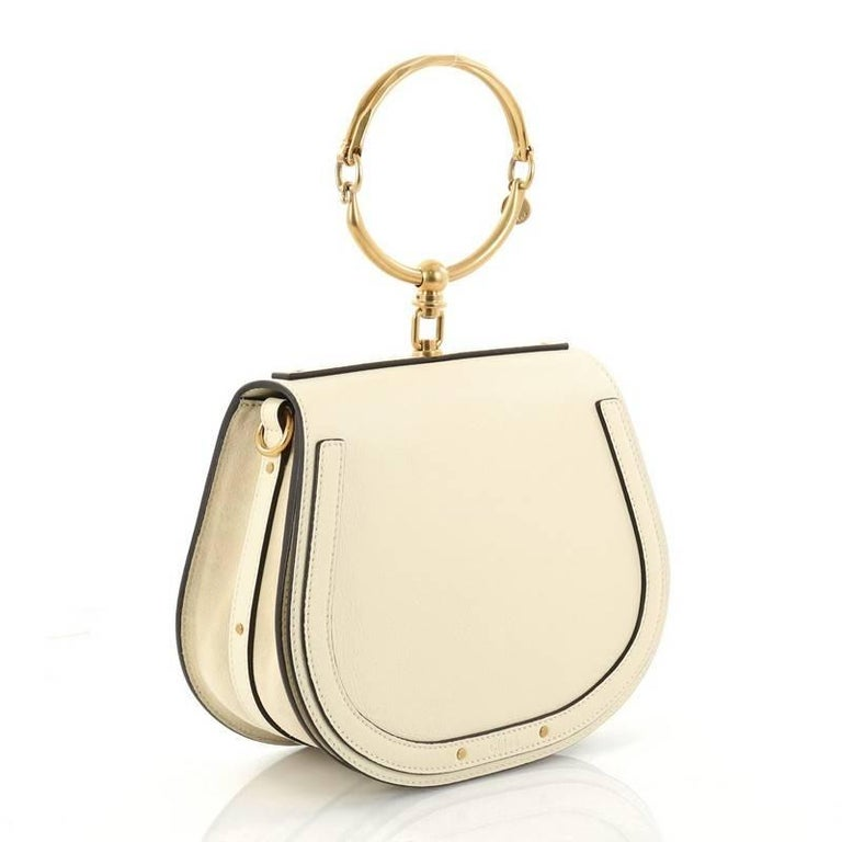 551412ada8c3 Chloe Nile Crossbody Bag Leather Medium In Excellent Condition For Sale In  New York
