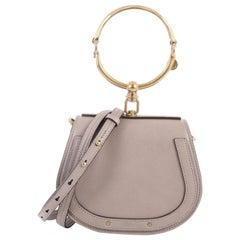 Chloe Nile Crossbody Bag Leather Small