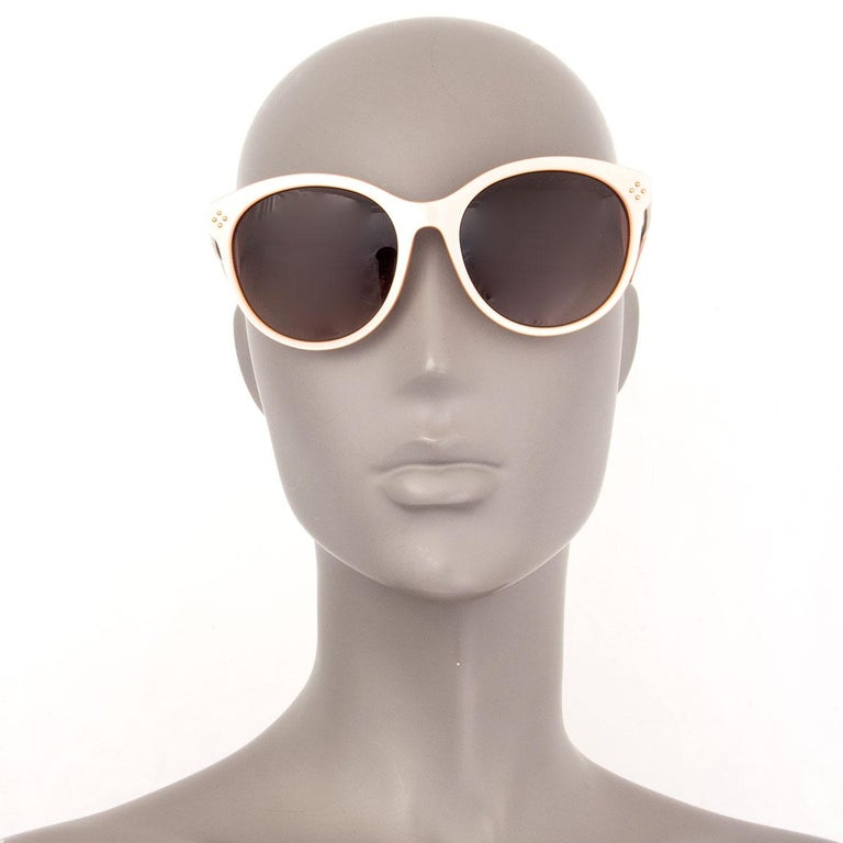 CHLOE nude pink CE641S Cat-Eye Sunglasses gradient brown Lens For Sale 1