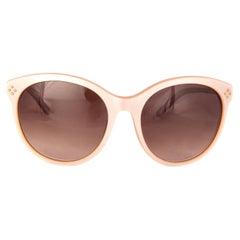 CHLOE nude pink CE641S Cat-Eye Sunglasses gradient brown Lens