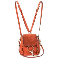 Orange Backpacks