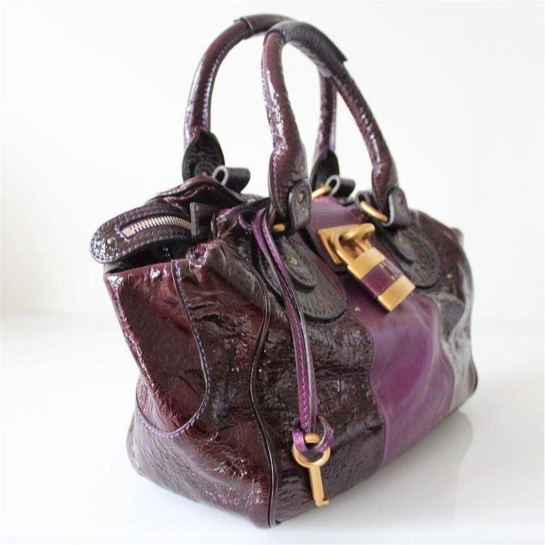 Black Chloé Paddington Bag For Sale