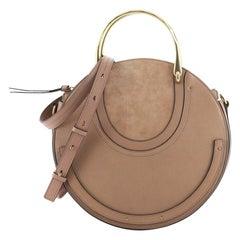 Chloe Pixie Crossbody Bag Leather and Suede Medium