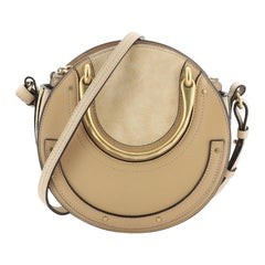 Chloe Pixie Crossbody Bag Leather and Suede Small