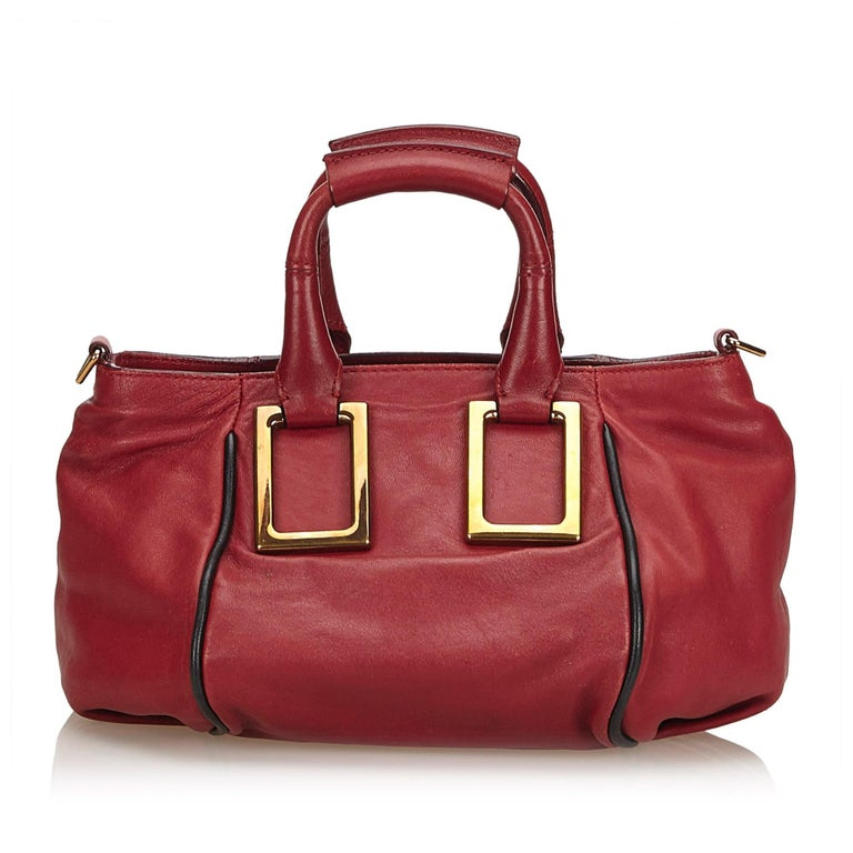 58dcc3ba1f Brown Chloe Red Leather Ethel For Sale