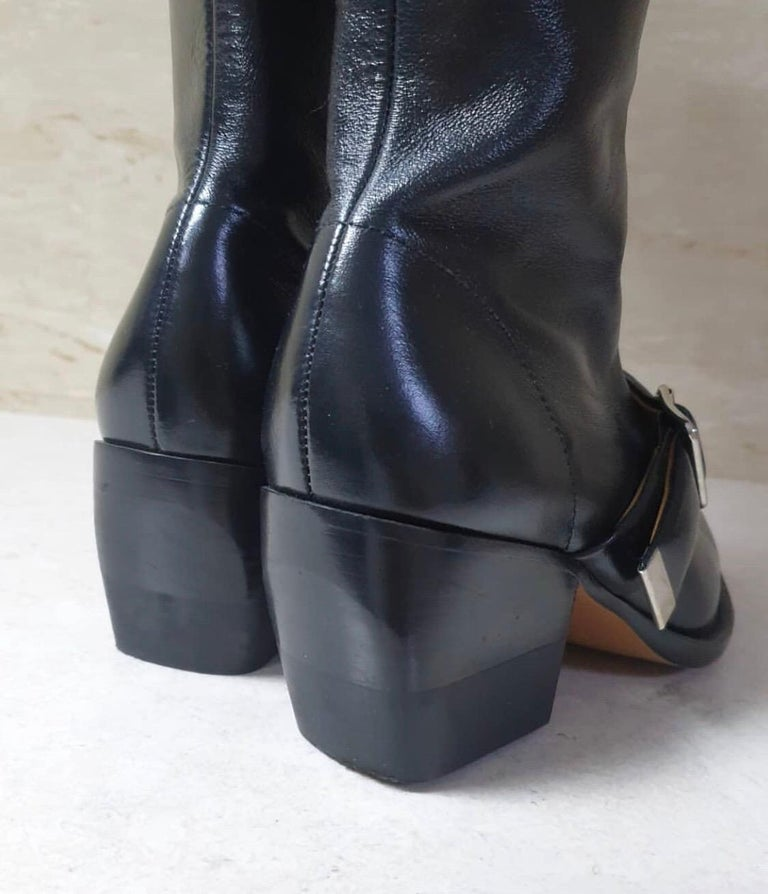 Chloé  Rylee leather over-the-knee boots For Sale 1
