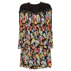 Chloé Silk Mousseline Print Dress