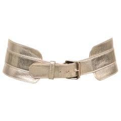 Chloe Silver Belt