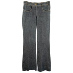 CHLOE Size 8 Dirty Wash Bell Bottom Jeans