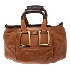 Chloe Tan Leather Crossbody Bag
