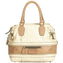 Chloe White Leather Shoulder Bag