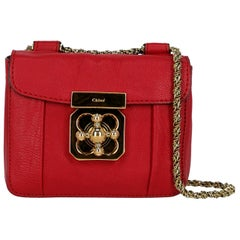 Chloe Woman Cross body bag Red