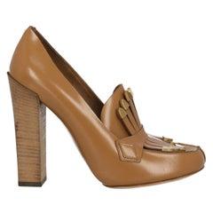 Chloé Woman Pumps Camel Color Leather IT 38