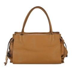 Chloé Woman Shoulder bag  Camel Color Leather