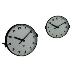 Chloride Gents of Leicester Station Clock, England circa 1950