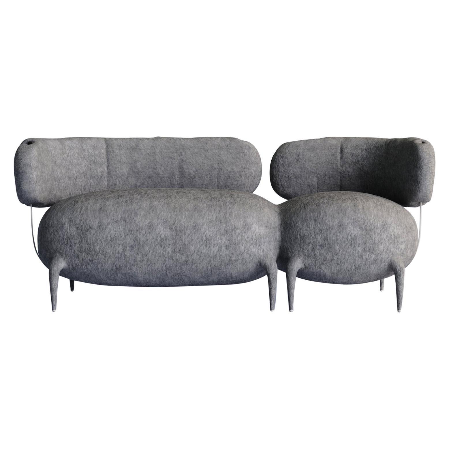 Lympho Contemporary Sofa by Taras Zheltyshev