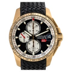 Chopard 161268 Mille Miglia GT XL 18k Rose Gold Chronograph Watch