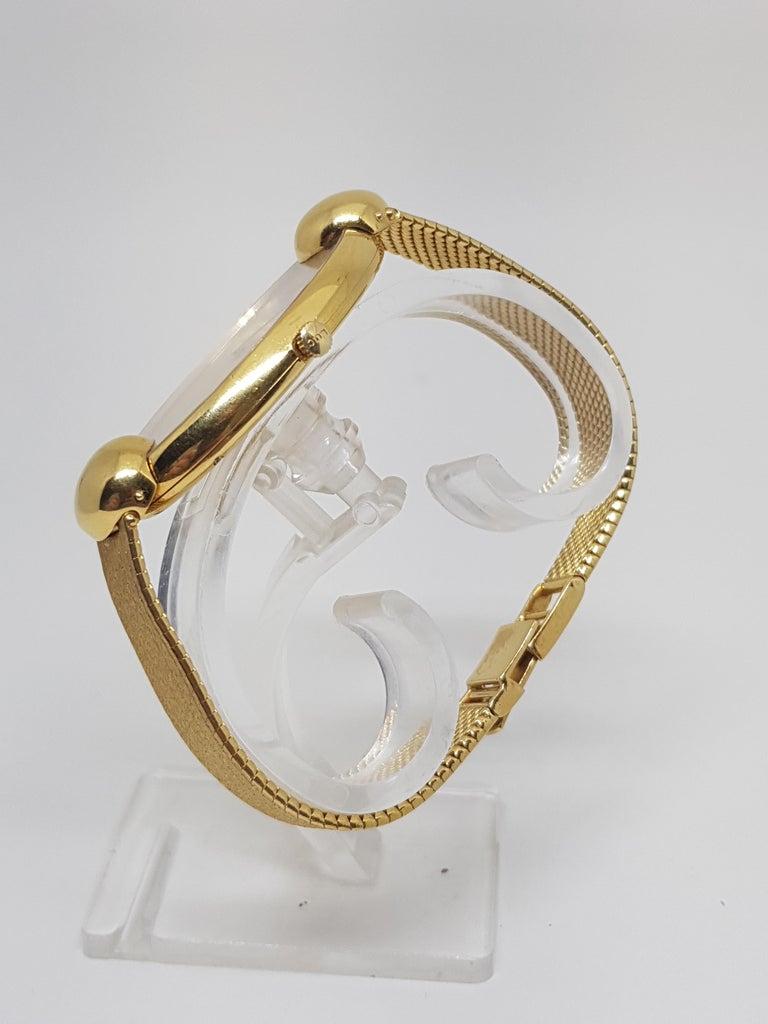 Chopard 18 Karat Yellow Gold Vintage Ladies Watch For Sale 2