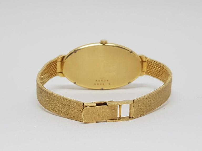 Chopard 18 Karat Yellow Gold Vintage Ladies Watch For Sale 3