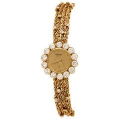 Chopard 18K Yellow Gold Diamonds Classic 104038 Women's Wristwatch 19 mm