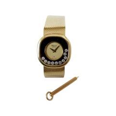 Chopard Happy Diamonds 18K Yellow Gold Watch